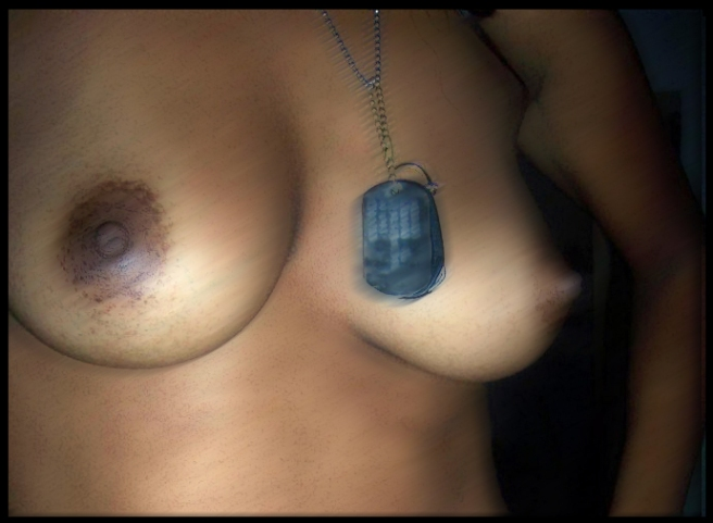 Ebony Dog Tags